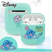 Disney - AirPods保護硬殼(史迪仔)