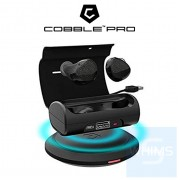 Cobble Pro - BT5.0 無線耳塞,帶有啟用Qi的無線充電套裝 TWS