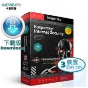 Kaspersky Internet Security  (Windows + Mac + Android)  多用戶 3 年 3 裝置 Terminator 特別版 ( 繁體及英文下載版 )