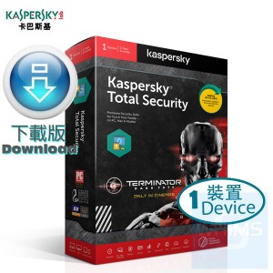 Kaspersky Total Security - 1 裝置 3 年 Terminator 特別版(Windows + Mac + Android)  ( 繁體及英文下載版)