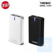 Tunewear - TUNEMAX BARREL 14000 便攜式電池 ( 黑 / 白色 )