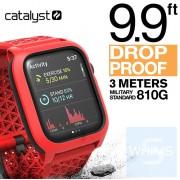 Catalyst - Apple Watch 44mm 第四/五代保護錶帶 火焰紅色
