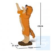 Jekca - 金毛尋回犬 04H-M01 (深紅褐色)