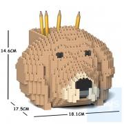 Jekca - 金毛尋回犬筆筒 01S  ( 二種顏色 )