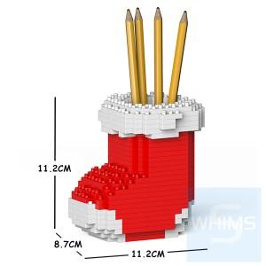 Jekca - 聖誕襪筆筒 01S-M01