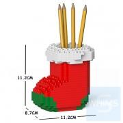 Jekca - 聖誕襪筆筒 01S-M02