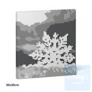 Jekca - 聖誕掛畫04S (30x30cm)