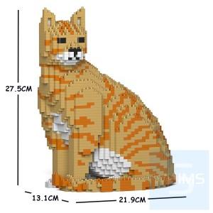 Jekca - 虎斑貓 02S (四種顏色)