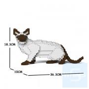 Jekca - 暹羅貓 02S (兩種顏色)