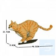 Jekca - 虎斑貓 18S (四種顏色)