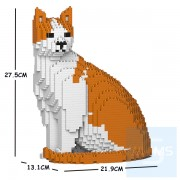 Jekca - 橙白家貓 10S-M03