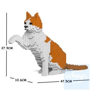 Jekca - 橙白家貓 12S-M03