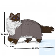 Jekca - 布偶貓 02S (四種顏色)