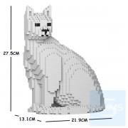 Jekca - 家貓 06S (白貓,黑貓,灰貓)