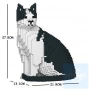 Jekca -黑白貓 10S-M02