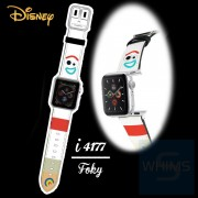 Disney - 反斗奇兵 Forky 小叉 Apple Watch 1-5代 錶帶 i4177