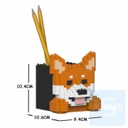 Jekca - 柴犬筆筒 01S