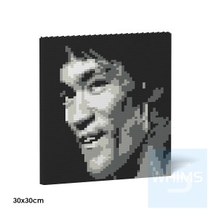 Jekca - 積木掛畫 - 李小龍 04S
