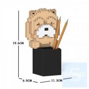 Jekca - 鬆獅狗筆筒 01S