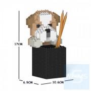Jekca - 英國老虎狗筆筒 01S