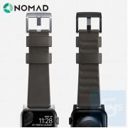 Nomad - Active Strap 防水皮革摩卡色錶帶 44/42MM