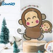 Sanrio - Osaru No Monkichi 馬騮仔 亞克力LED燈 可自訂文字 (OM81L)