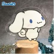Sanrio - Cinnamoroll 玉桂狗 亞克力LED燈 可自訂文字 (CN81L)