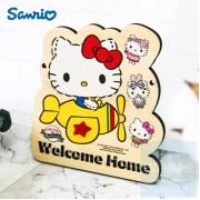 Sanrio - Hello Kitty 自訂文字木製門牌(KT82s)