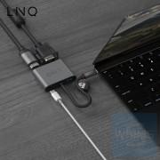 LINQ - 4合1 USB-C多端口集線器
