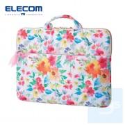 Elecom - 花花圖案13.3吋電腦袋