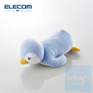 Elecom - MOCHIMAL 動物腕托x清潔墊之企鵝
