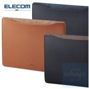 Elecom - MacBook用皮革收納袋 13吋