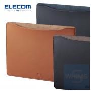 Elecom - MacBook用皮革收納袋 15吋