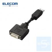 Elecom - DisplayPort - DVI轉換器 0.15m