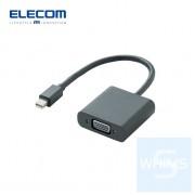 Elecom - Mini DisplayPort - VGA轉換器