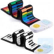 自學系列 - 手捲式49鍵電子琴