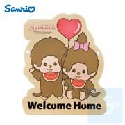 Sanrio - Monchhichi 自訂文字木製門牌(MO82s)