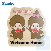 Sanrio - Monchhichi 自訂文字木製門牌(MO81s)