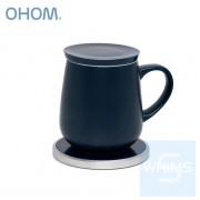 OHOM Kopi - Mug Combo 智能自熱保溫杯連無線充電座套裝 - 深海軍藍色 Deep Navy