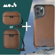 Mous - 超優惠套裝 Contour iPhone 11 / 11 Pro / 11 Pro Max 手機殼 加 Airpods / Pro