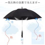 Thanko - 日本 三合一電風扇噴霧雨傘