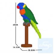 Jekca - 彩虹鸚鵡 01C