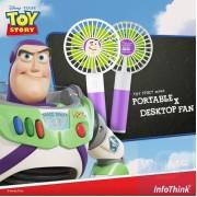 InfoThink x Disney - 反斗奇兵系列 行動x桌上型兩用風扇 - 巴斯光年