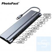 PhotoFast - Type-C 11合1 多功能智能擴展器 台灣品牌 香港行貨