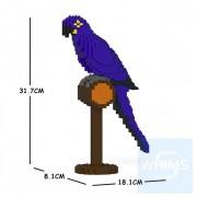 Jekca - 青藍金剛鸚鵡 01S