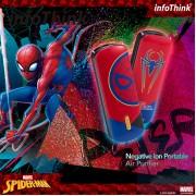 InfoThink - iAnion-100 隨身淨系列隨身項鍊負離子空氣清淨機-SPIDERMAN 蜘蛛俠 限量版