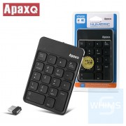 ApaxQ - 2.4G 無線非同步數字鍵盤 KPW08