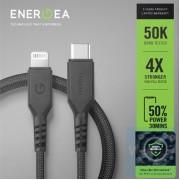 Energea - FibraTough USB-C to Lightning 快速充電線 1.5米 銀離子抗菌線