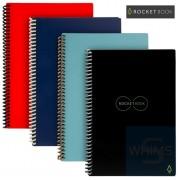 Rocketbook - Core | Dot-Grid | Letter A4 8.5 x 11 inch | 32 pages | Pilot FriXon Pen x 1 | Microfiber Towel x 1