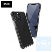 """UNIQ - Hybrid Carbon Black Combat iPhone 12 Pro Max 6.7"""" 保護殼"""